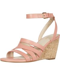 Cole Haan Marietta Wedge Sandal - Multicolor