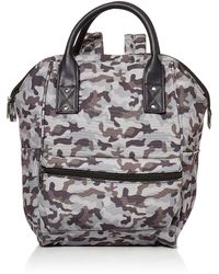 Amazon Essentials Canvas Frame Backpack - Gray