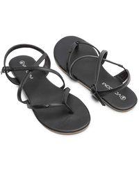 Volcom Strapped In Sandals - Black