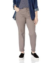 Lee Jeans - Plus-size Instantly Slims Classic Relaxed Fit Monroe Straight Leg Jean - Lyst