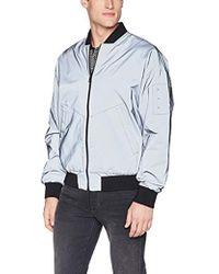 Calvin Klein Classic Bomber Jacket - Metallic