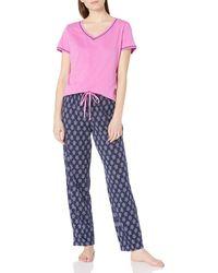Nautica Pajama Pyjama Set - Pink