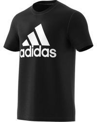 adidas Must Haves Badge Of Sport Tee Black/white X-large