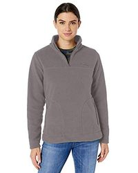 Columbia - Canyon Point Sherpa Pullover - Lyst