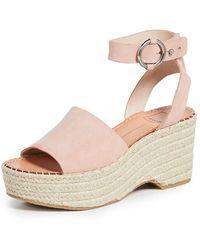 Dolce Vita Lesly Ankle Strap Espadrilles - Pink
