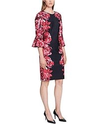 a5bd427f309 Lyst - Calvin Klein Floral Print Shirt Dress - Bloomingdale S Exclusive