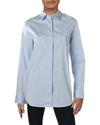Theory - Long Sleeve Essential Buttondown Shirt - Lyst