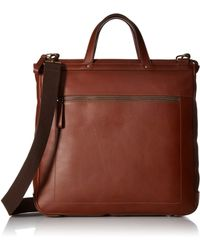 Fossil Haskell Ns Workbag - Brown