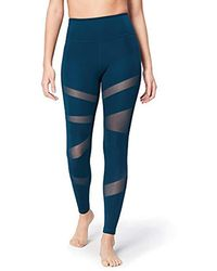 Core 10 Icon Series - The Warrior Mesh Leggings - Blue