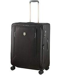 Victorinox Unisex Werks Traveler 6.0 Medium Softside Case - Black