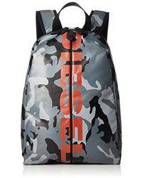 DIESEL - X05479, Unisex Adults' Backpack, Grey (grey Camou), 1x27x23 Cm (w X H L) - Lyst