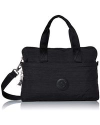 Kipling Elsil Crossbody Laptop Bag - Black