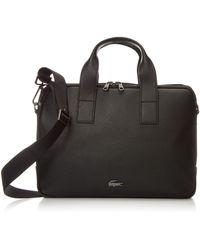 Lacoste Soft Mate Computer Bag - Black