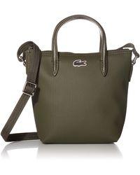 Lacoste Xs Shopping Cross Bag - Green