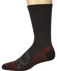 9.5-12 Merrell Mens Zoned Quarter Light Hiker Sock brown heather Shoe Size