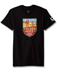 Hanes - National Parks Graphic T-shirt Collection, Black/golden Gate, 3x Large - Lyst