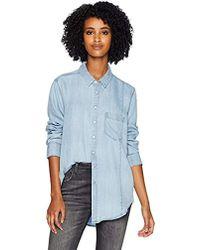 DL1961 Massau & Manhattan Shirt - Blue