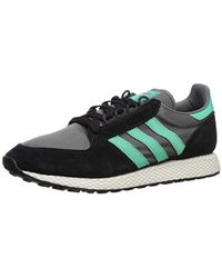 Forest Grove Running Shoe, Blackhi res Greengrey Four, 5 M Us Multicolor