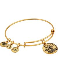 ALEX AND ANI - Crowned With Light Bangle Bracelet - Lyst