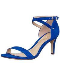 Lauren by Ralph Lauren Glinda Heeled Sandal - Blue