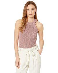 Ella Moss Margot Tank Sweater Top - Pink
