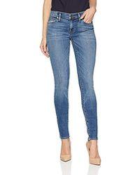 Hudson Jeans Krista Super Skinny 5 Pocket Jean - Blue