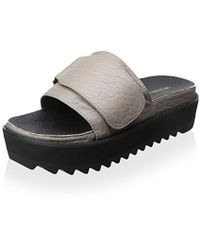 INTENTIONALLY ______ - Reture Leather Slide - Lyst