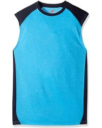Hanes Sport Performance Muscle Tee - Blue