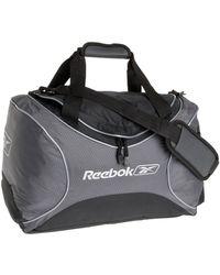 Reebok V Series X Small Duffle,gunmetal,one Size - Black