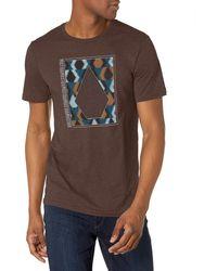 Volcom Insizer Short Sleeve Tee - Brown