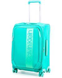Calvin Klein Glen Expandable Softside Spinner Luggage - Green