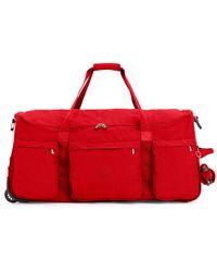Kipling Discover Große Reisetasche mit Rädern - Rot