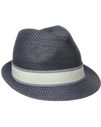 61cffd6eb48 Lyst - Goorin Bros Killian Fedora in Blue for Men