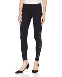 Yummie By Heather Thomson - Signature Waistband Legging With Floral Embroidery Sockshosiery - Lyst