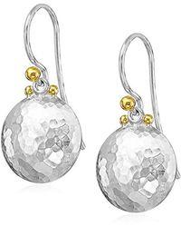 Gurhan - Lentil Medium Round Drop Earrings - Lyst