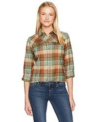 Pendleton - Christina Ultrafine Merino Wool Plaid Shirt - Lyst