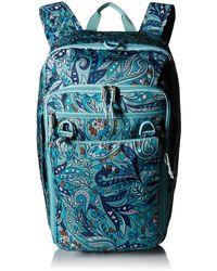 Vera Bradley Lighten Up Convertible Travel Bag - Blue
