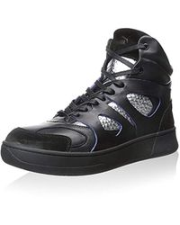 Lyst - PUMA Mcq Tech Runner Mid Graphic in Black for Men ca8d1570a