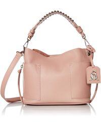 Steve Madden Womens Bucket Hobo Bag - Pink