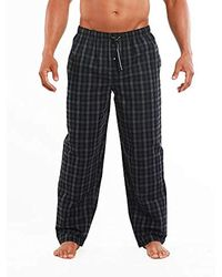 Perry Ellis Woven Sleep Pant - Black