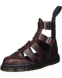 Dr. Martens Adults' Geraldo Ankle Strap Sandals - Brown