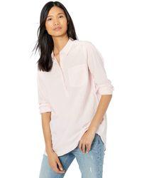 Goodthreads - Lightweight Cotton Popover Tunic Shirts - Lyst