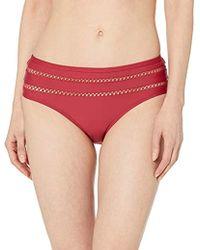 Ella Moss - Retro Swimsuit Bikini Bottom - Lyst