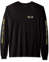 Quiksilver - Step Up Step Down Long Sleeve Tee - Lyst