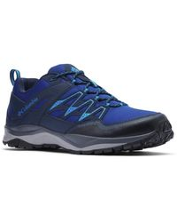 Columbia Wayfinder Outdry Hiking Shoe - Blue