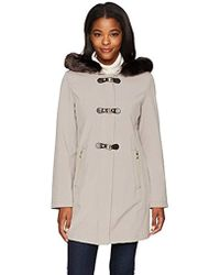 Ivanka Trump - Soft Shell Toggle With Faux Fur - Lyst