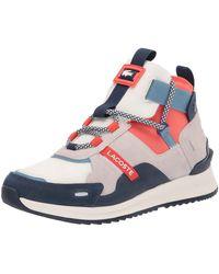 Lacoste Mens Run Breaker 0320 1 Sma Sneaker - Black