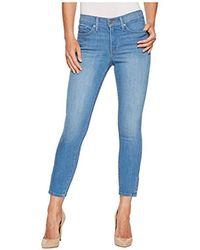 56956b4db9472 Rag & Bone Dylan Snap Button Jeans in Blue - Lyst