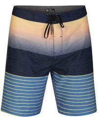 "Hurley Phantom Backyards 20"" Inch Swim Short Boardshort - Blue"