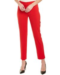Nine West Plus Size Strech Skinny Pant - Red